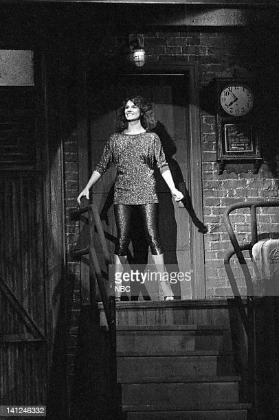 Susan Saint James during the monologue on October 10 1981