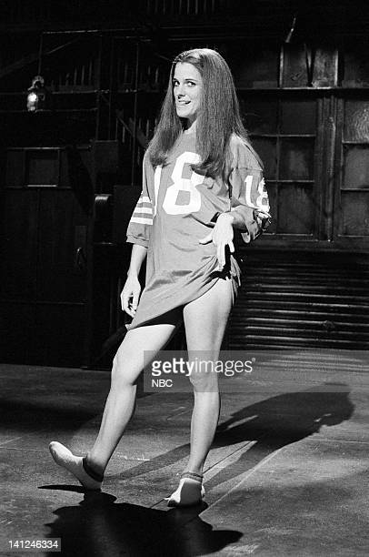 Susan Saint James during the monologue on October 10 1981