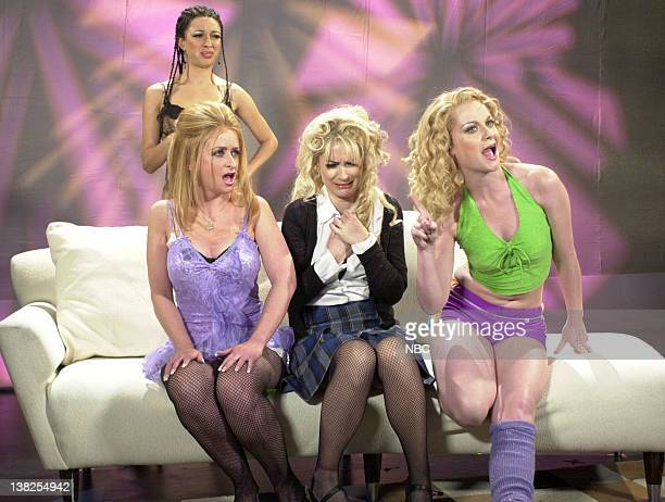 LIVE Episode 20 Air Date Pictured Rachel Dratch as Shayna Winona Ryder as Missy Amy Poehler as Amber and Rachel Dratch as Shayna during the Girl Next...