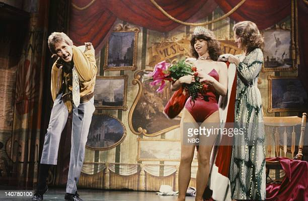 Harry Anderson and Leslie Pollack during a guest performance on May 13 1983 Photo by Al Levine/NBC/NBCU Photo Bank