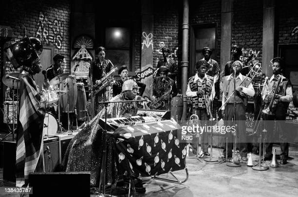 Musical guest Sun Ra performs on May 20 1978
