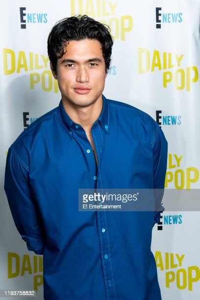 """Charles Melton of """"Bad Boys For Life"""" poses for a photo on set"""