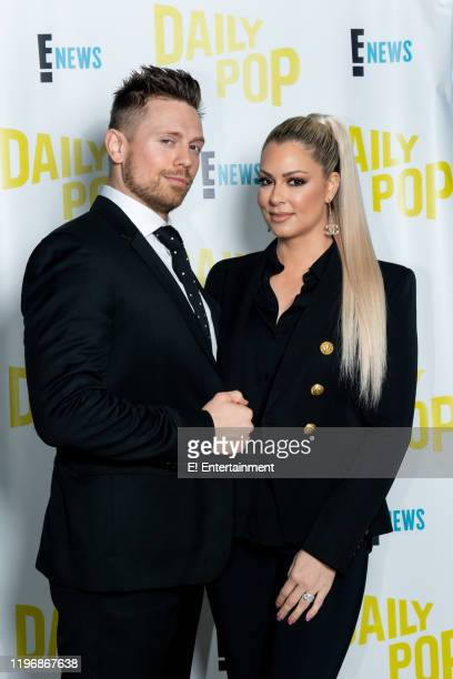 "Mike ""The Miz"" Mizanin and Maryse Mizanin of ""Miz Mrs"" stop by the Daily Pop set to talk about their upcoming show"