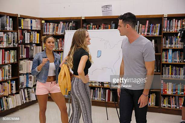 BACHELOR Episode 2002 Ben greets ten ladies at a local Los Angeles high school where he invites them to take a trip down memory lane with him but...