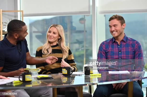 "Daily Pop CoHosts Justin Sylvester and Morgan Stewart chat with Pete Weber from ""The Bachelor"""