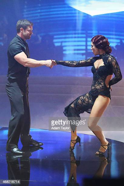 STARS Episode 2003 The shirts came off when Latin Night returned to Dancing with the Stars on MONDAY MARCH 30 on the Walt Disney Television via Getty...