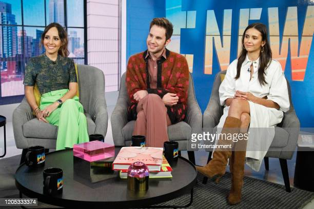 Lilliana Vazquez Ben Platt and Nina Dobrev on March 5 2020
