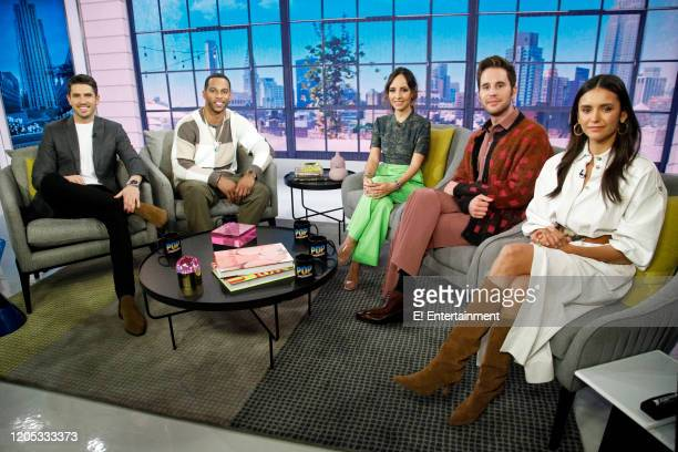 Scott Tweedie Victor Cruz Lilliana Vazquez Ben Platt and Nina Dobrev on March 5 2020