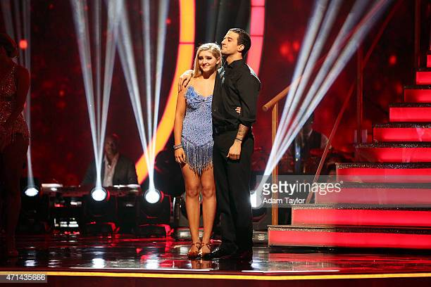 STARS 'Episode 2007' At the end of the night Willow Shields and Mark Ballas were sent home on 'Dancing with the Stars MONDAY APRIL 27 on ABC WILLOW