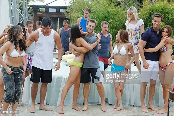 PAD Episode 201 Hosted by Chris Harrison Bachelor Pad returns MONDAY AUGUST 8 with its most controversial cast to date as 18 unforgettable characters...