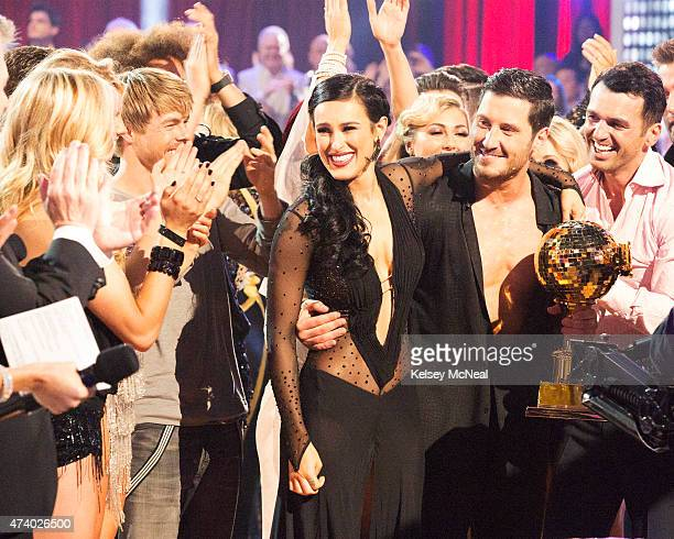 STARS 'Episode 2010A' At the end of the night Rumer Willis and Val Chmerkovskiy were crowned the 10th Anniversary Season Champions and winners of the...