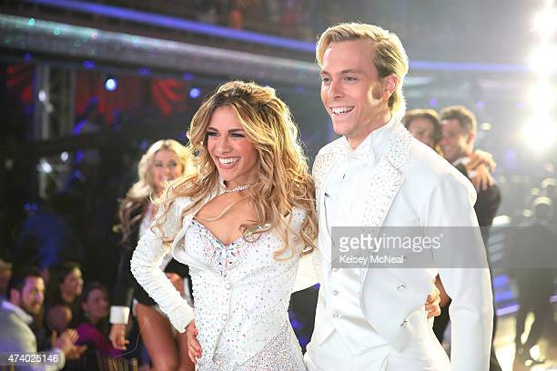 """Episode 2010A"""" - Riker Lynch and Allison Holker performed an encore of their Freestyle dance, during the two-hour Season Finale on TUESDAY, MAY 19 ,..."""