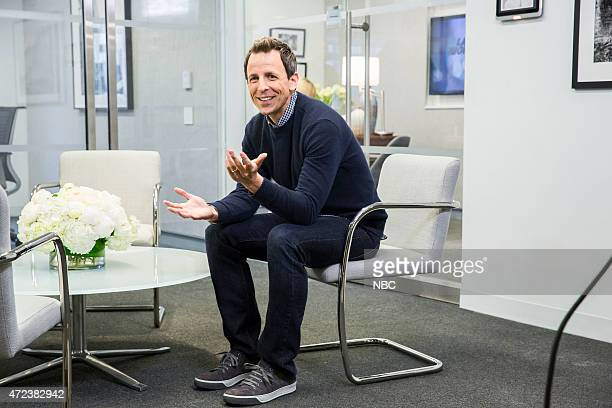 Seth Meyers during the 'Anna Wintour Comedy Icon' skit May 6 2015
