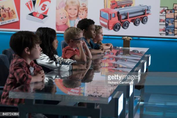 BOX Episode 202 Season two of the toycompetition series The Toy Box premieres on SUNDAY OCTOBER 1 on The Walt Disney Television via Getty Images...