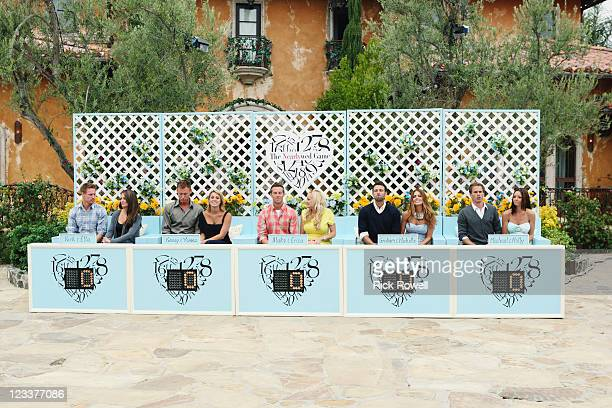 PAD Episode 205 On the next episode of Walt Disney Television via Getty Images's Bachelor Pad MONDAY SEPTEMBER 5 the contestants must couple up to...