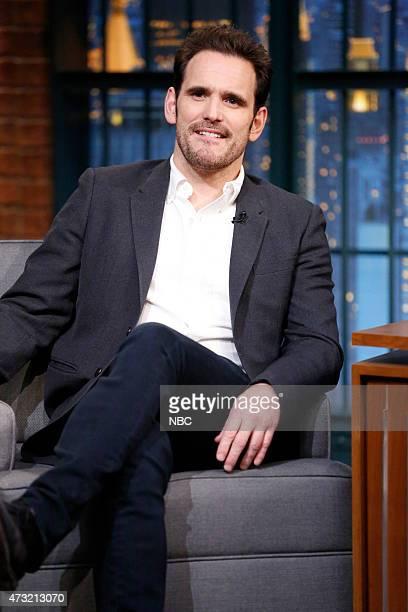 Actor Matt Dillon during an interview on May 13 2015