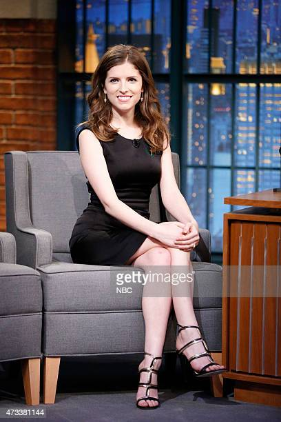 Actress Anna Kendrick during an interview on May 14 2015