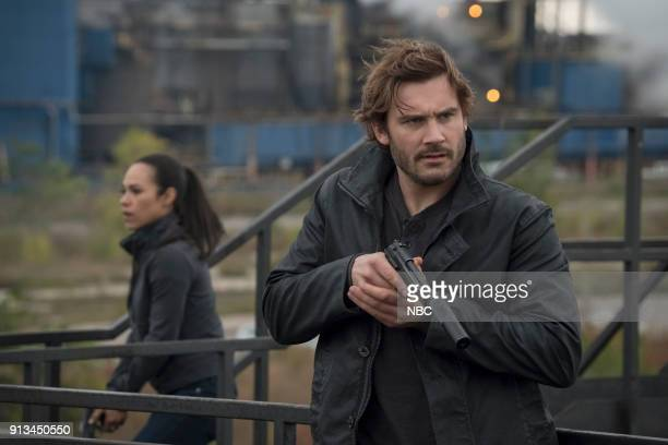 Episode 207 -- Pictured: Jessica Camacho as Santana, Clive Standen as Bryan Mills --