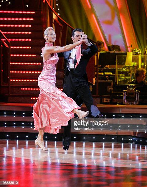 STARS Episode 207 Tonight each couple danced a ballroom and latin dance Jerry Rice and Anna Trebunskaya danced a Tango and a Rumba Drew Lachey and...