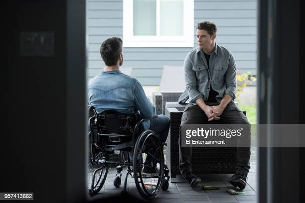 THE ARRANGEMENT Episode 209 'Truth' Pictured Alan Powell as Aaron Woolth Josh Henderson as Kyle West