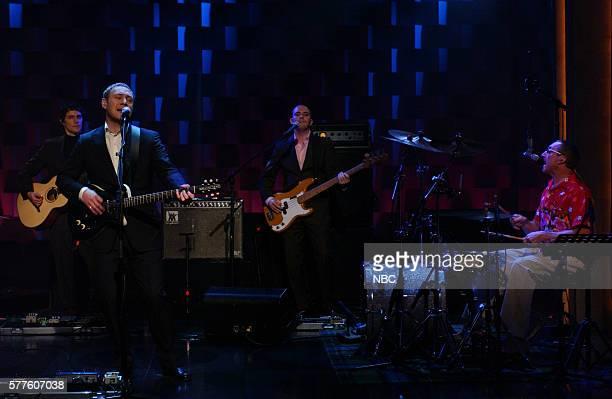 Musicians David Kitt David Gray Rob Malone and Craig McClune
