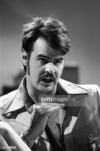 Episode 21 -- Pictured: Dan Aykroyd as Ricardo Montalban during the 'Continental Men' skit on May 14, 1977 -- Photo by: NBCU Photo Bank