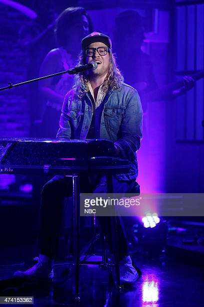 Musical guest Allen Stone performs on May 20 2015