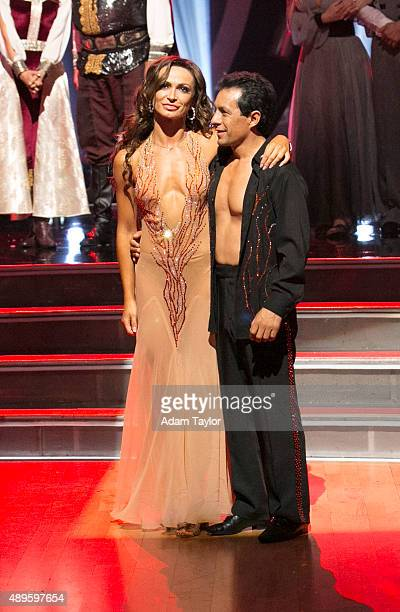 STARS Episode 2102A At the end of the night Victor Espinoza and Karina Smirnoff were eliminated on Dancing with the Stars TUESDAY SEPTEMBER 22 on...