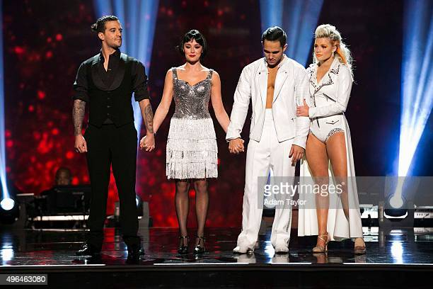 STARS 'Episode 2109' Alexa PenaVega and Mark Ballas were eliminated on 'Dancing with the Stars' MONDAY NOVEMBER 9 on ABC