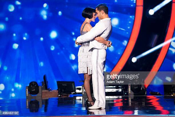 STARS Episode 2109 Alexa PenaVega and Mark Ballas were eliminated on Dancing with the Stars MONDAY NOVEMBER 9 on Walt Disney Television via Getty...