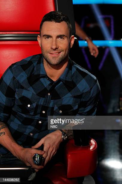 THE VOICE Episode 215 Live Show Pictured Adam Levine