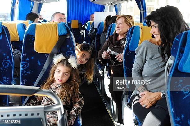 "Episode 215 ""Teresa's Family Reunion"" -- Pictured: Audriana Giudice, Gia Giudice, Teresa Giudice"