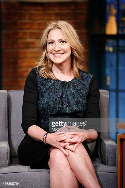 Actress Edie Falco during an interview on June 8 2015