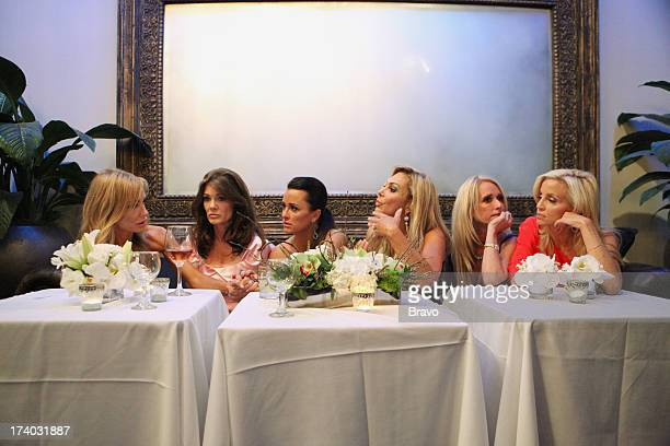 HILLS Episode 219 Night of a Thousand Surprises Pictured Taylor Armstrong Lisa Vanderpump Kyle Richards Adrienne Maloof Kim Richards Camille Grammer