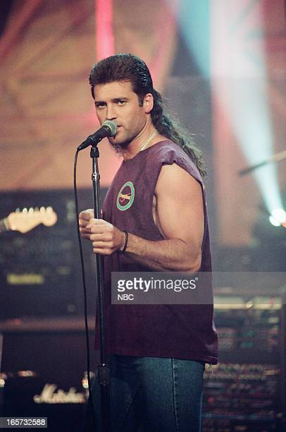 Musical guest Billy Ray Cyrus performs on May 6 1993