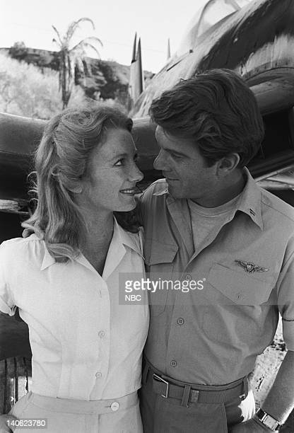 Episode 22 -- Aired 3/1/77 -- Pictured: Elizabeth Macey as Angela, Larry Manetti as Lt. Bob Boyle -- Photo by: NBCU Photo Bank