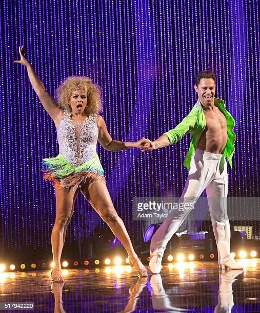 STARS Episode 2202 The 12 celebrities ready themselves for Latin Night one of the hottest nights in the ballroom with each celebrity performing...