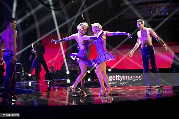 """Episode 2208"""" - The remaining six couples will take the competition to the next level as """"Judges Team Up Challenge"""" comes to """"Dancing with the..."""