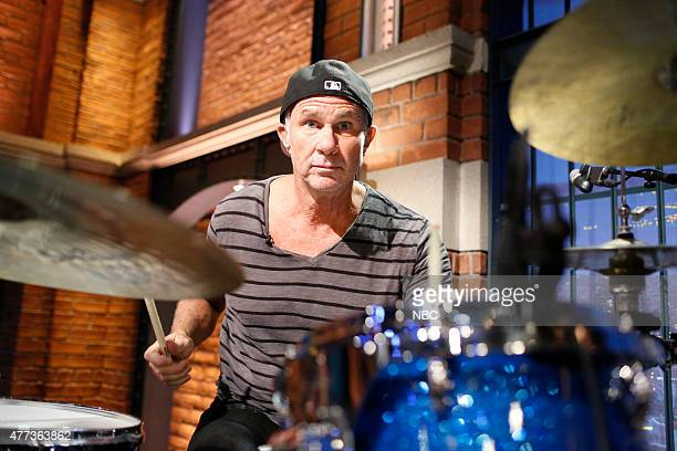 Chad Smith of The Red Hot Chili Peppers performs with the 8G band on June 16 2015