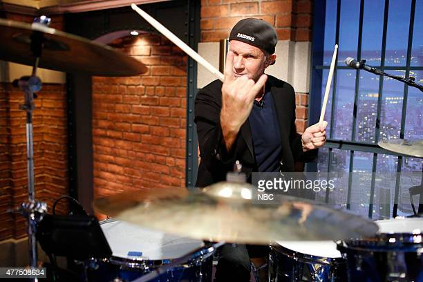 Chad Smith of The Red Hot Chili Peppers performs with the 8G band on June 17 2015