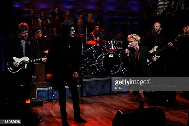 FALLON Episode 223 Airdate Pictured Musical guest Peter Wolf and Shelby Lynne performs on April 5 2010