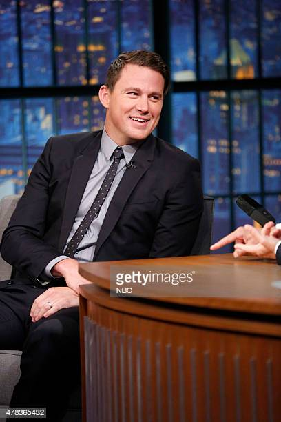 Episode 226 -- Pictured: Actor Channing Tatum during an interview on June 24, 2015 --