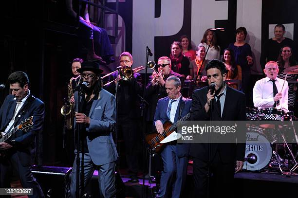 FALLON Episode 229 Airdate Pictured Musical guest The Specials performs on April 13 2010