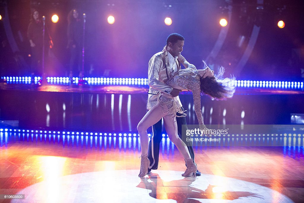 STARS - 'Episode 2303' - An exciting, brand-new theme night comes to the show, as the 12 remaining celebrities find themselves pitted against each other in a quest to keep themselves immune from elimination, as Face Off night comes to 'Dancing with the Stars,' live, MONDAY, SEPTEMBER 26 (8:00-9:00 p.m. EDT), on the ABC Television Network. KENNY 'BABYFACE' EDMONDS, ALLISON