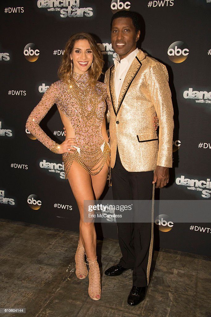 STARS - 'Episode 2303' - An exciting, brand-new theme night comes to the show, as the 12 remaining celebrities find themselves pitted against each other in a quest to keep themselves immune from elimination, as Face Off night comes to 'Dancing with the Stars,' live, MONDAY, SEPTEMBER 26 (8:00-9:00 p.m. EDT), on the ABC Television Network. ALLISON HOLKER, KENNY 'BABYFACE' EDMONDS
