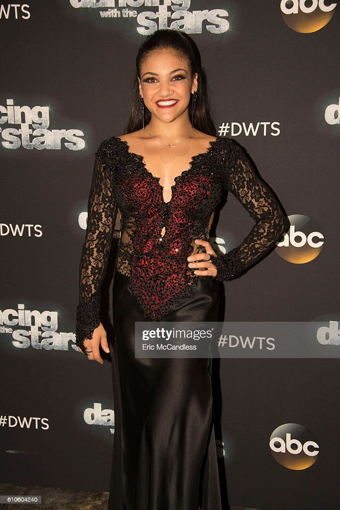 STARS - 'Episode 2303' - An exciting, brand-new theme night comes to the show, as the 12 remaining celebrities find themselves pitted against each other in a quest to keep themselves immune from elimination, as Face Off night comes to 'Dancing with the Stars,' live, MONDAY, SEPTEMBER 26 (8:00-9:00 p.m. EDT), on the ABC Television Network. LAURIE