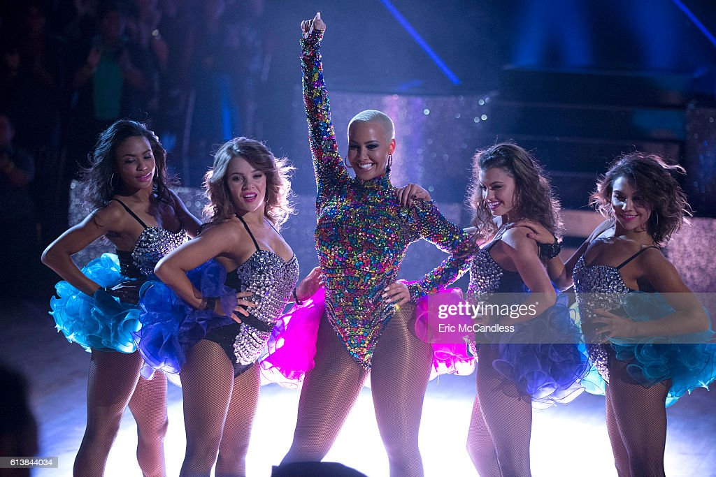 STARS - 'Episode 2305' - The nine remaining celebrities will set out to leave a lasting impression with their dances as they commemorate their most memorable year, on 'Dancing with the Stars,' live, MONDAY, OCTOBER 10 (8:00-10:01 p.m. EDT), on the ABC Television Network. AMBER