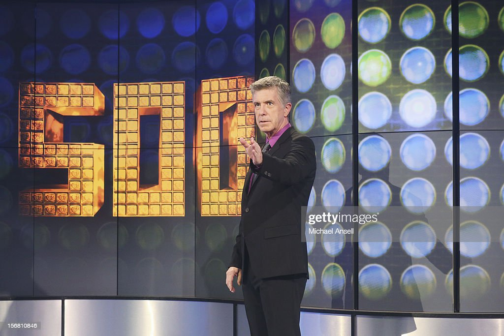 S FUNNIEST HOME VIDEOS - 'Episode 2306' - 'America's Funniest Home Videos,' ABC's longest running primetime show, celebrates its 500th episode,' SUNDAY, NOVEMBER 11 (7:00-8:00 p.m., ET) on ABC Television Network. The episode highlights include a woman finding half a $20 bill in her dog's mouth, a music montage featuring wedding mishaps, a teen girl rambling on after dental surgery about how much she loves Prince William, and Tom playing 'Who Breaks It?' The show will also award the Golden Cup to the one millionth groin hit. TOM