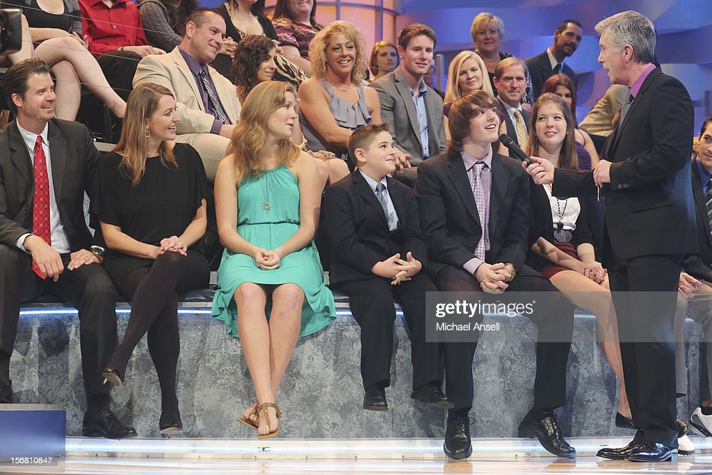 S FUNNIEST HOME VIDEOS - 'Episode 2306' - 'America's Funniest Home Videos,' ABC's longest running primetime show, celebrates its 500th episode,' SUNDAY, NOVEMBER 11 (7:00-8:00 p.m., ET) on ABC Television Network. The episode highlights include a woman finding half a $20 bill in her dog's mouth, a music montage featuring wedding mishaps, a teen girl rambling on after dental surgery about how much she loves Prince William, and Tom playing 'Who Breaks It?' The show will also award the Golden Cup to the one millionth groin hit. CAMERON COSTANZA (STAR OF 500TH EPISODE WINNING CLIP), DAVID