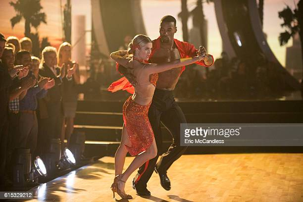 STARS 'Episode 2306' The nine remaining celebrities ready themselves for one of the hottest nights in the ballroom Latin Night with each celebrity...